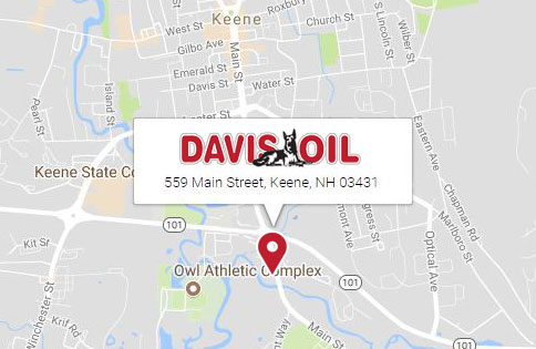 Davis Oil is located at 559 Main Street Keene, NH 03431