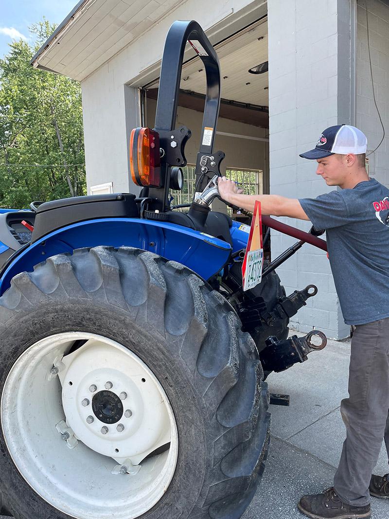 Premium diesel tractor